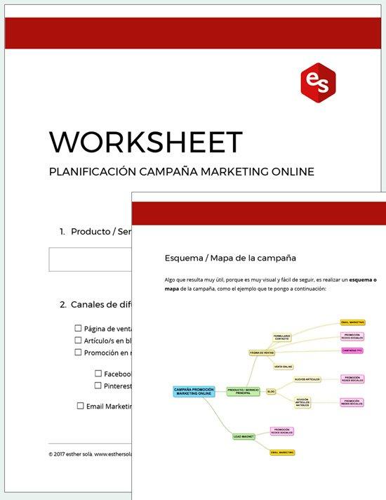 Worksheet planificacion
